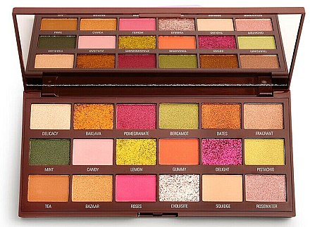 Paletă farduri de ochi - I Heart Revolution Eyeshadow Chocolate Palette Turkish Delight