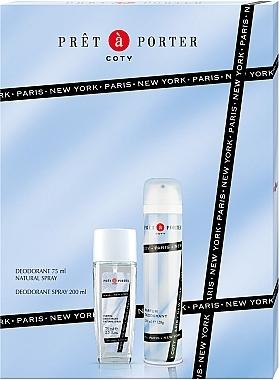 Coty Pret-a-Porter - Set (deo/spray/75ml+deo/200ml)
