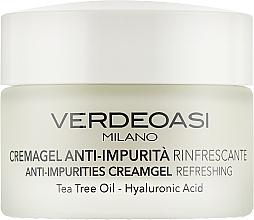 Parfumuri și produse cosmetice Cremă-gel cu efect răcoritor împotriva impurităților pielii - Verdeoasi Anti-Impurities Creamgel Refreshing