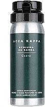 Parfumuri și produse cosmetice Spumă de ras - Acca Kappa Cedro