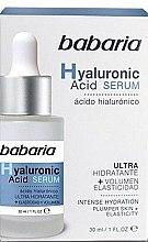 Parfumuri și produse cosmetice Ser facial - Babaria Hyaluronic Acid Serum
