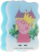 "Parfumuri și produse cosmetice Burete de baie pentru copii ""Peppa Pig"", Peppa prințesa - Suavipiel Peppa Pig Bath Sponge"