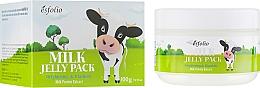 Parfumuri și produse cosmetice Mască pe bază de lapte cu efect de lifting - Esfolio Milk Shape Memory Jelly Pack