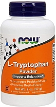 "Parfumuri și produse cosmetice Supliment alimentar ""L-triptofan"", pulbere - Now Foods L-Tryptophan Powder"