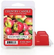 Parfumuri și produse cosmetice Ceară pentru lampă aromatică - Country Candle Macintosh Apple Wax Melts