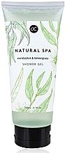 "Parfumuri și produse cosmetice Gel de duș ""Eucalipt și Lemongrass"" - Accentra Natural Spa Shower Gel"