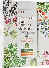 Parfumuri și produse cosmetice Mască hidratantă pentru ten obosit și plictisitor - Petitfee&Koelf Resurrection Plant Soothing Gel Mask