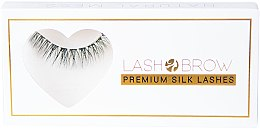 Parfumuri și produse cosmetice Gene false - Lash Brow Premium Silk Lashes Natural Mess