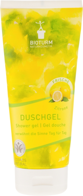 "Gel de duș ""Lămâie"" - Bioturm Lemon Shower Gel No.76 — Imagine N1"