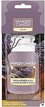 Parfumuri și produse cosmetice Aromatizator auto - Yankee Candle Car Jar Dried Lavender & Oak