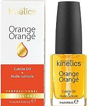 """Parfumuri și produse cosmetice Ulei pentru unghii și cuticule """"Orange"""" - Kinetics Orange Cuticle Oil"""