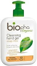 Parfumuri și produse cosmetice Gel pentru spălarea mâinilor - Biopha Organic Cleansing Hand Gel Sweet Orange