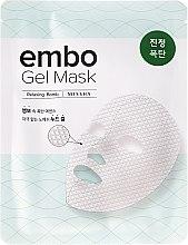Parfumuri și produse cosmetice Mască calmantă pentru față - Missha Embo Gel Mask Relaxing-Bomb
