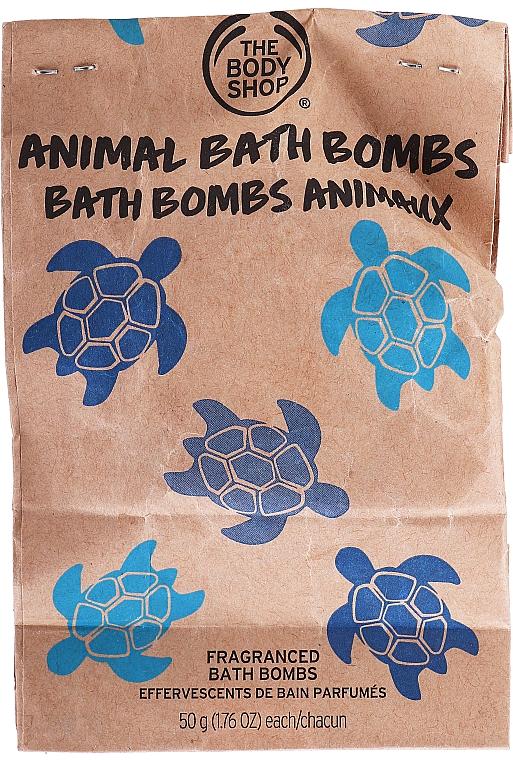 Бомбочка для ванны - The Body Shop Bath Bomb Coconut Turtle — фото N1