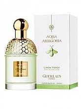Guerlain Aqua Allegoria Limon Verde - Apă de toaletă (tester cu capac) — Imagine N2