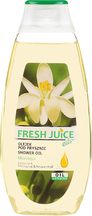 "Ulei de duș ""Moringa"" - Fresh Juice Shower Oil Moringa"