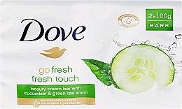 Parfumuri și produse cosmetice Săpun-cremă de corp - Dove Go Fresh Cream Bar With Cucumber & Green Tea Scent