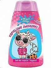 """Parfumuri și produse cosmetice Gel de duș pentru copii """"Animăluțe"""", portocală - Chlapu Chlap Bath & Shower Gel"""