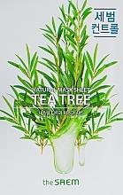 Parfumuri și produse cosmetice Mască de față - The Saem Natural Tea Tree Mask Sheet