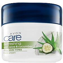 Parfumuri și produse cosmetice Cremă de față și corp cu extract de aloe vera și castravete - Avon Care