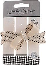 Parfumuri și produse cosmetice Agrafă de păr, bej - Top Choice Fashion Design