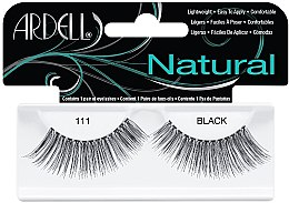 Parfumuri și produse cosmetice Extensii gene - Ardell Natural Eye Lashes Black 111