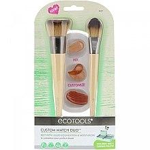 Parfumuri și produse cosmetice Set pensule pentru machiaj - Eco Tools Custom Match Duo