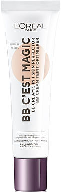 BB-cremă - L'Oreal Paris C'est Magic 5în1