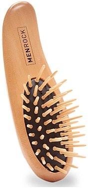 Perie de lemn pentru barbă - Men Rock Beard Brush