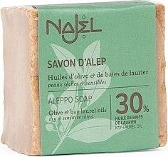 Parfumuri și produse cosmetice Săpun Aleppo - Najel Savon D'alep Aleppo Soap 30 %