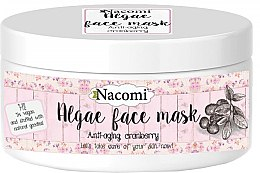 Parfumuri și produse cosmetice Mască de față alginat de merișoare - Nacomi Professional Face Mask