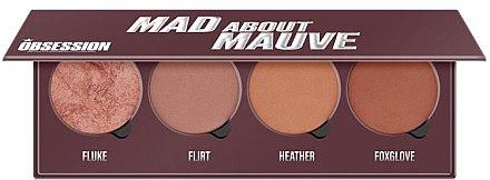 Paletă fard de obraz - Makeup Obsession Mad About Mauve