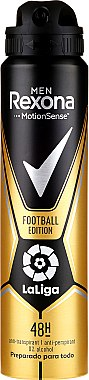 Deodorant pentru bărbați - Rexona Men MotionSense La Liga Football Edition Antiperspirant — Imagine N1