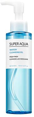 Ulei hidrofil de curățare - Missha Super Aqua Watery Cleansing Oil