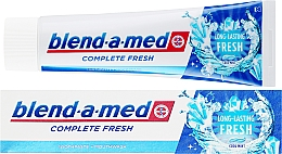 Parfumuri și produse cosmetice Pastă de dinți - Blend-a-med Complete Fresh Long Lasting Fresh