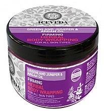 Parfumuri și produse cosmetice Împachetări pentru corp - Natura Siberica Iceveda Greenland Juniper&Argan Oil Firming Herbal Body Wrapping