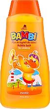 "Parfumuri și produse cosmetice Spumă de baie """"Exotic"" - Bambi"