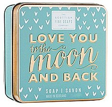Parfumuri și produse cosmetice Săpun - Scottish Fine Soaps Love You To The Moon And Back Soap In A Tin