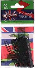 Parfumuri și produse cosmetice Cremă de corp pentru regenerarea țesuturilor epiteliale - Ronney Black Small Set Of Hair Pins