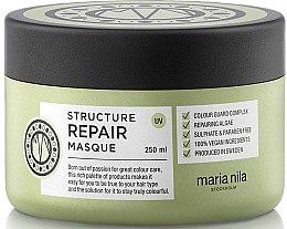 Parfumuri și produse cosmetice Mască pentru păr uscat și deteriorat - Maria Nila Structure Repair Masque