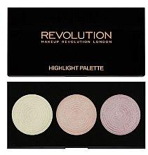 Parfumuri și produse cosmetice Paletă iluminatoare pentru față - Makeup Revolution Highlight Palette