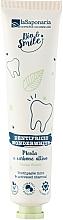Parfumuri și produse cosmetice Pastă de protecție pentru dinți, cu mentă albă și carbon activ - La Saponaria Wonderwhite Mint&Active Charcoal Toothpaste