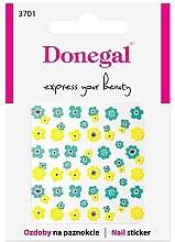 Parfumuri și produse cosmetice Abțibilduri pentru unghii, 3701 - Donegal
