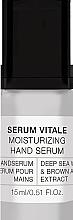 Parfumuri și produse cosmetice Ser pentru mâini - Alessandro International Spa Serum Vitale Moisturizing Hand Serum
