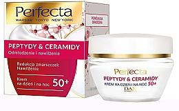 Parfumuri și produse cosmetice Cremă regenerantă pentru față 50+ - Perfecta Peptydy&Ceramidy