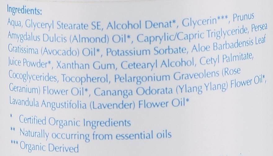Lăptișor demachiant pentru față - Bentley Organic Skin Blossom Facial Cleansing Milk — Imagine N2