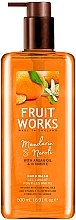 "Parfumuri și produse cosmetice Săpun ""Mandarin și neroli"" - Grace Cole Fruit Works Hand Wash Mandarin & Neroli"