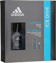 Parfumuri și produse cosmetice Adidas Ice Dive - Set (edt/50ml + sh/gel/250ml)