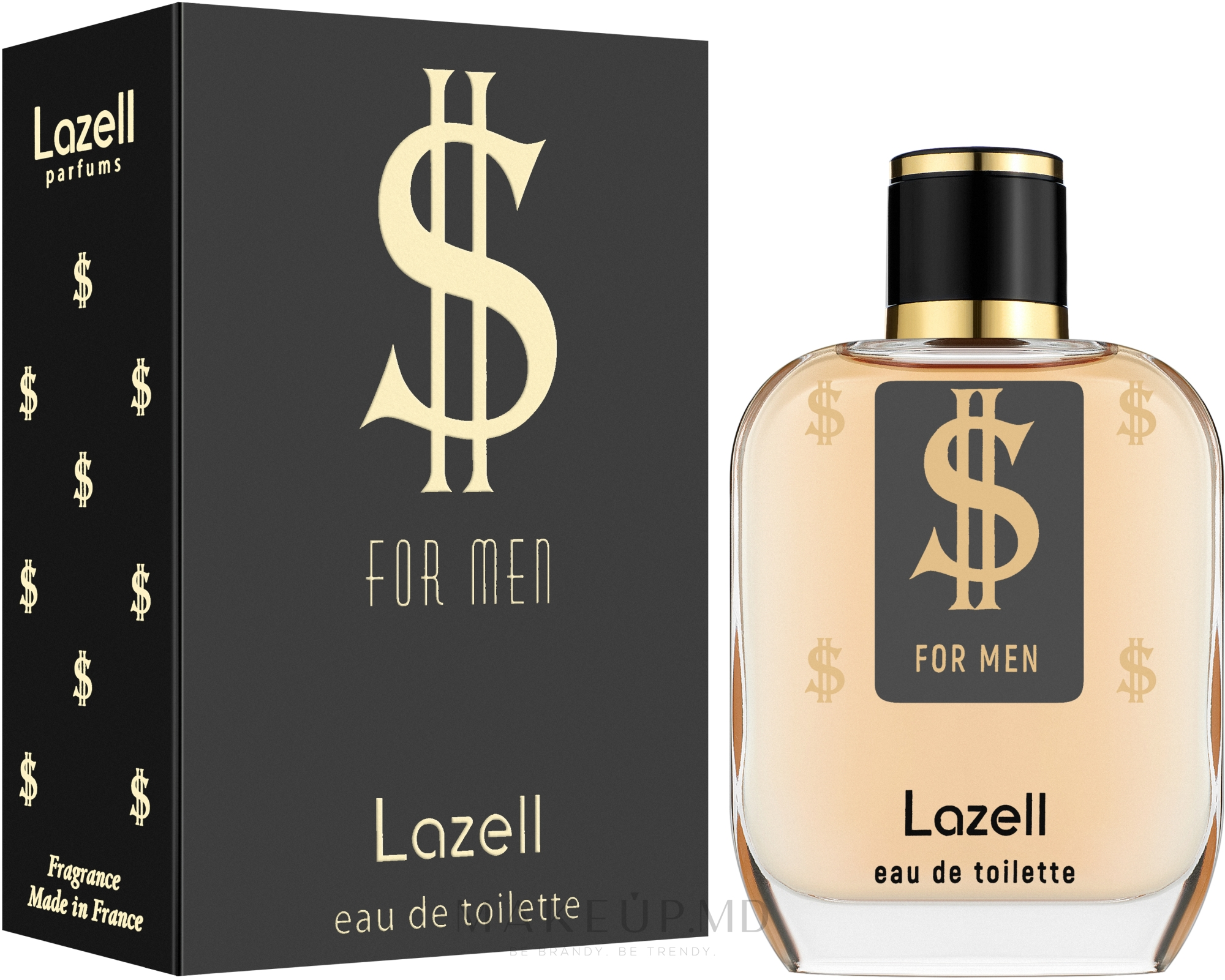 Lazell $ For Men - Apă de toaletă  — Imagine 100 ml