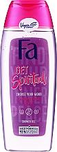 """Parfumuri și produse cosmetice Gel de duș """"Creați-vă propria dispoziție"""" cu parfum floral  - Fa Get Spiritual Shower Gel"""